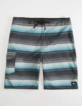 O'Neill Santa Cruz Stripe Black Mens Boardshorts