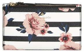 Kate Spade Hyde Lane - Rose Stripe Mikey Wallet
