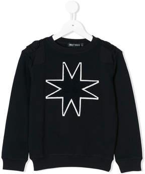 Antony Morato star motif sweatshirt