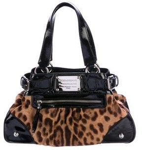 Dolce & Gabbana Ponyhair Miss Silky Bag - ANIMAL PRINT - STYLE
