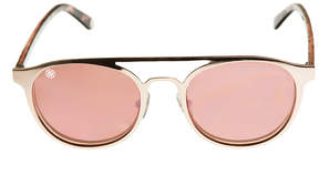 Nicole Miller Nicole By Full Frame Round UV Protection Sunglasses-Womens