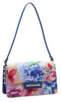 Braccialini Cristina Floral Shoulder Bag
