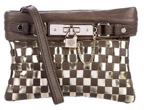 Marc by Marc Jacobs Woven Leather Wristlet