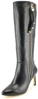 INC International Concepts Women's Libbi Wide Calf Leather Knee High Boot.