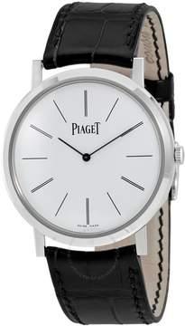 Piaget Altiplano White Dial White Gold Men's Watch