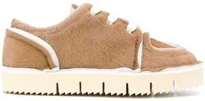 Marni Hairy calf sneakers