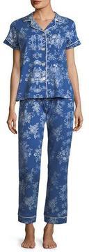 BedHead Mystery Garden Short-Sleeve Classic Pajama Set