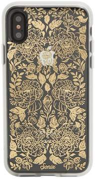 7 For All Mankind Secret Garden Iphone Case In Gold
