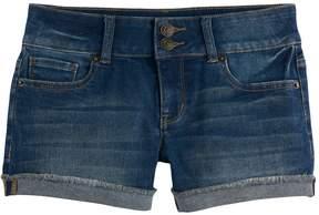 Mudd Girls 7-16 & Plus Size Denim Shortie Shorts