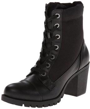 XOXO Womens Cade Closed Toe Ankle Fashion Boots.