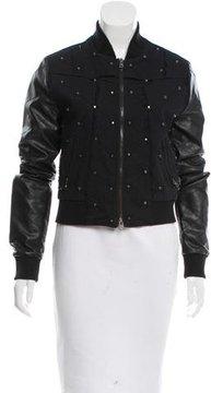 Alberto Makali Embellished Bomber Jacket