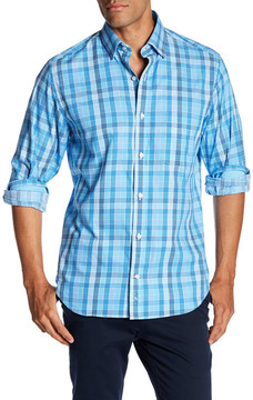 Tailorbyrd Regular Fit Long Sleeve Plaid Shirt