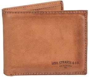 Levi's Levis Men's RFID-Blocking Extra-Capacity Slimfold Wallet