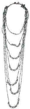Erickson Beamon Crystal & Faux Pearl Multistrand Necklace