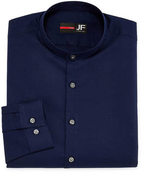 Jf J.Ferrar JF  Casualization Long Sleeve Dobby Dress Shirt - Slim