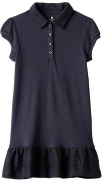 Chaps Girls 4-6x School Uniform Polo Dress