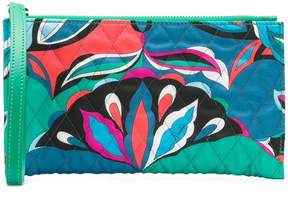 Emilio Pucci quilted clutch bag