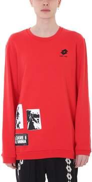 Damir Doma Werno Red Cotton Sweatshirt