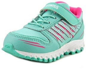 K-Swiss X-160 Vlc Round Toe Synthetic Running Shoe.