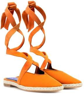 J.W.Anderson Canvas lace-up sandals