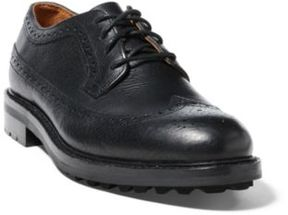 Ralph Lauren Nyles Leather Wingtip Black 12