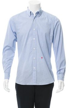 Moschino Patterned Button-Down Shirt w/ Tags