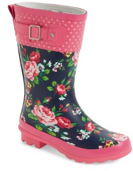 Western Chief Girl's Classic Rosie Rain Boot