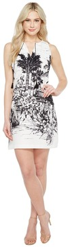 Christin Michaels Estelle Sleeveless Dress with Neck Tie Women's Dress