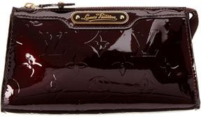 Louis Vuitton Amarante Monogram Vernis Leather Trousse Cosmetic Pouch