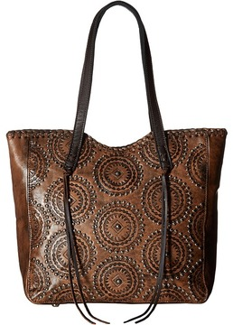 American West - Kachina Spirit Large Zip Top Tote Tote Handbags