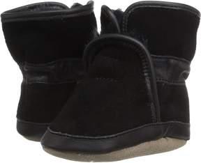 Robeez Cozy Ankle Bootie Soft Sole Boys Shoes