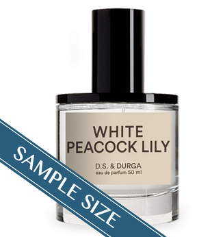 D.S. & Durga Sample - White Peacock Lily EDP by D.S. & Durga (0.023oz Fragrance)