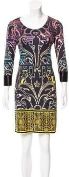 Matthew Williamson Embellished Long Sleeve Dress