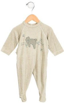Petit Bateau Boys' Terry Cloth All-In-One