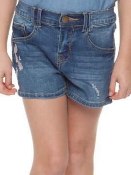 Dex Little Girl's Denim Shorts