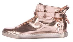 Buscemi 110 MM Leather Sneakers