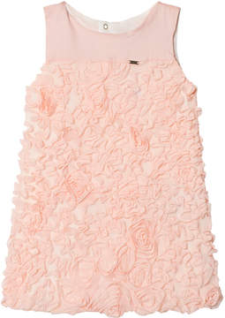 Mayoral Blush Tulle and Lurex Dress