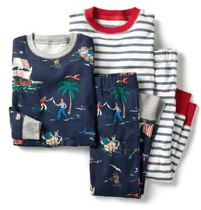 Boden Mini 2-Pack Two-Piece Pajamas