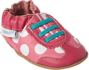 Robeez Kids' Dotted Dolly Sneaker