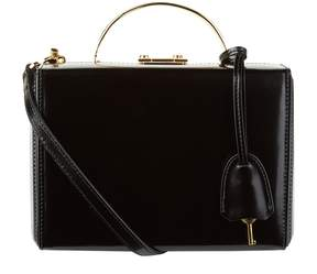 Mark Cross Small Leather Grace Box Bag