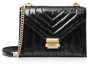 MICHAEL Michael Kors Whitney Large Quilted Leather Shoulder Bag