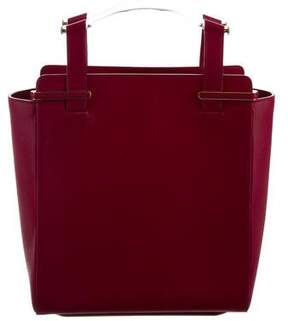 Charlotte Olympia Gable Leather Shopper Tote