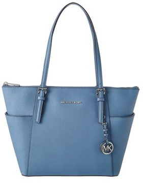 MICHAEL Michael Kors Jet Set Leather East/west Tote. - BLUE - STYLE