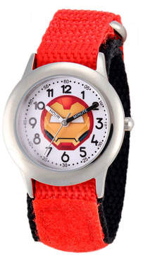 Marvel Emoji Boys Red Strap Watch-Wma000091