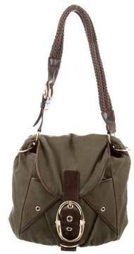 Saint Laurent Buckle-Embellished Shoulder Bag