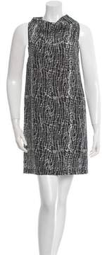 Cédric Charlier Printed Mini Dress