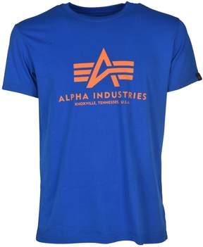 Alpha Industries Logo Print T-shirt