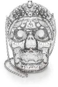 Judith Leiber Couture Skull Shoulder Bag