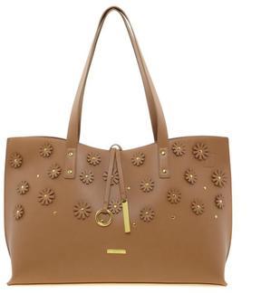 IMAN Global Chic Luxury Resort Flower Appliqué Bag