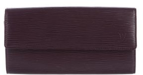 Louis Vuitton Epi Sarah Wallet - PURPLE - STYLE